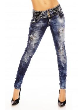 Pants 4D955 Dark Blue